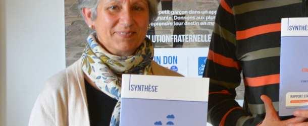Eliane Jacquin, présidente du Secours Catholique, délégation Périgord-Agenais