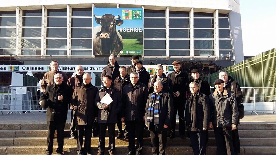 Une délégation de 15 évêques au salon de l'Agriculture