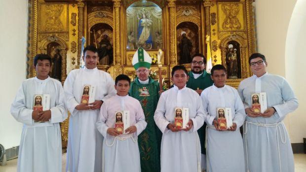 Nuevos seminaristas menores