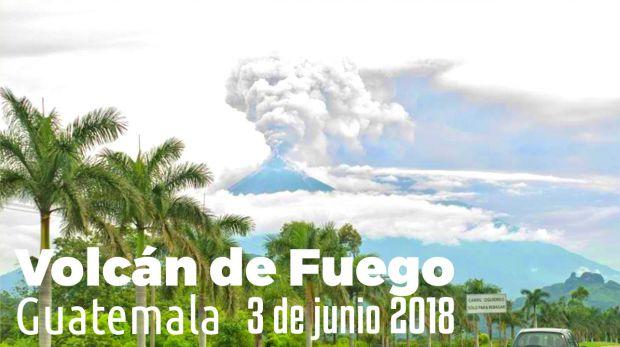 Comunicado Obispo de Escuintla por la erupción del Volcán de Fuego