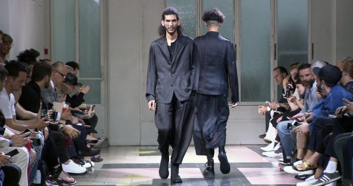 Yohji Yamamoto pour homme Spring Summer 2016