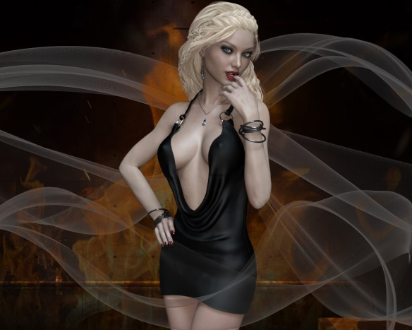 Sienna - Black Dress 1
