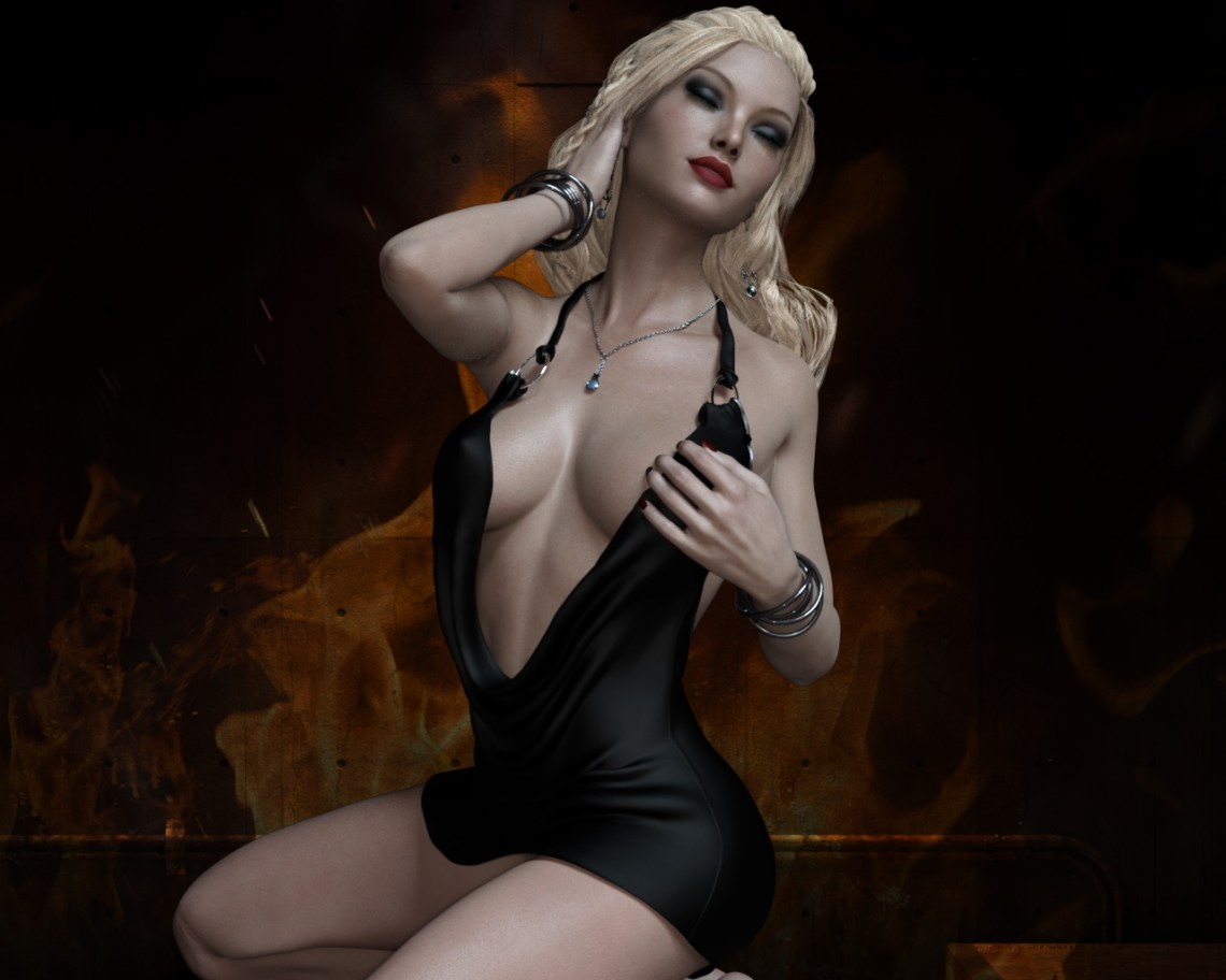 Sienna - Black Dress 4 v2