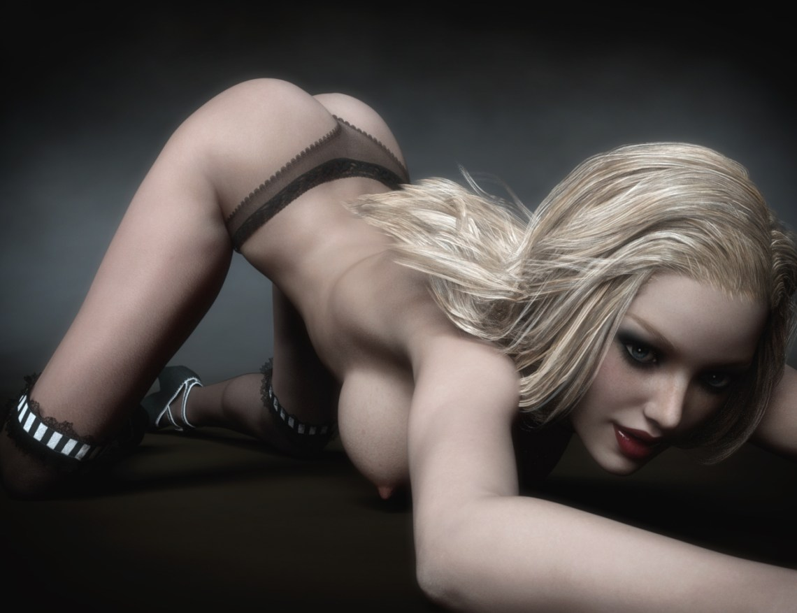 Sienna - Ass Pose 1