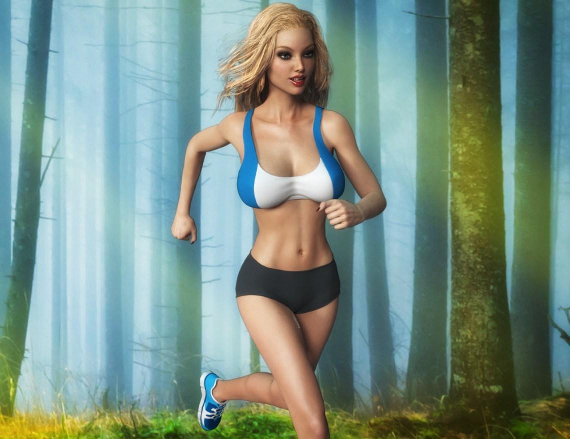 Sienna - Running 1