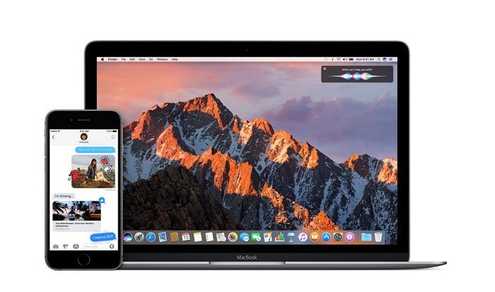 iPhone et MacBook