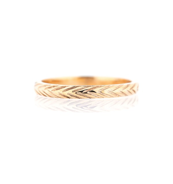 2mm width wheat wedding ring