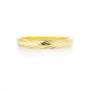 3mm wheat wedding band