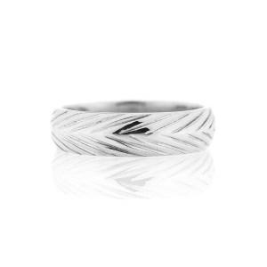 5mm width wheat wedding band
