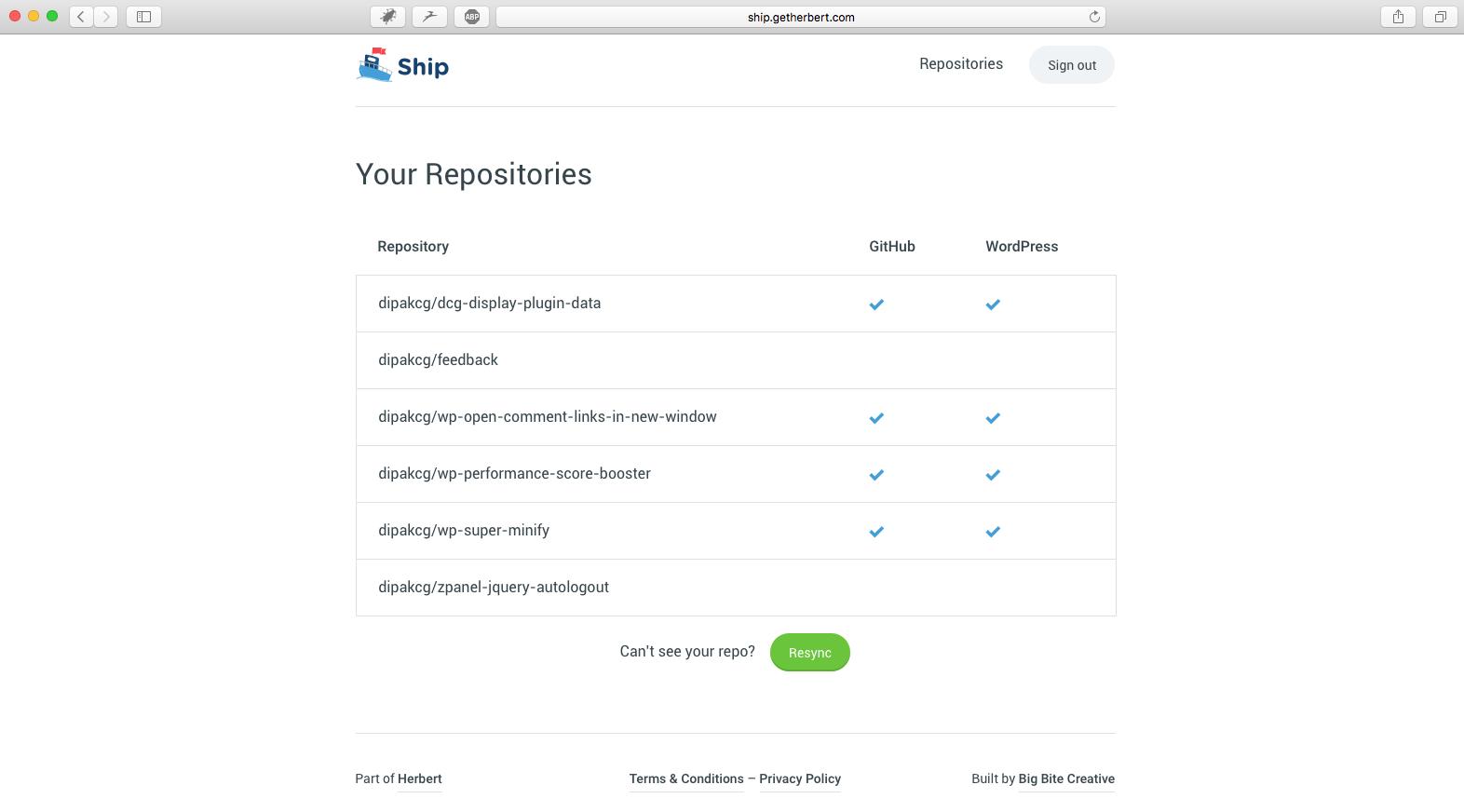 GitHub Repositories of dipakcg