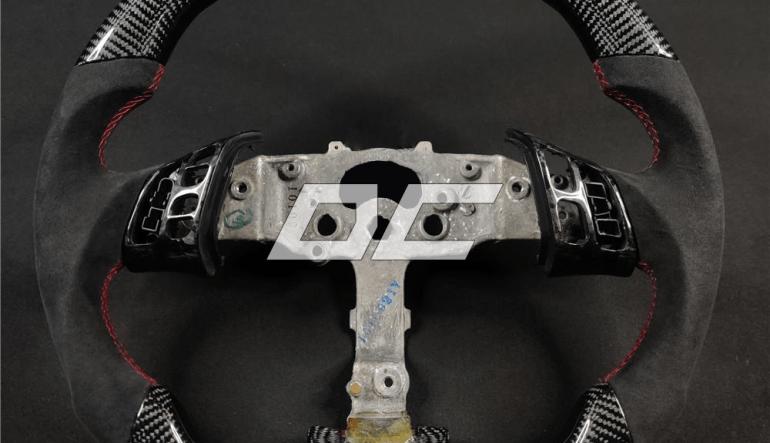 Custom carbon rat til Mazda 3/6
