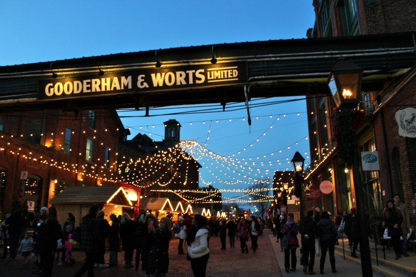Entering the Christmas Market