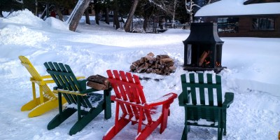 lakeside four season fire at Cedar Grove Lodge
