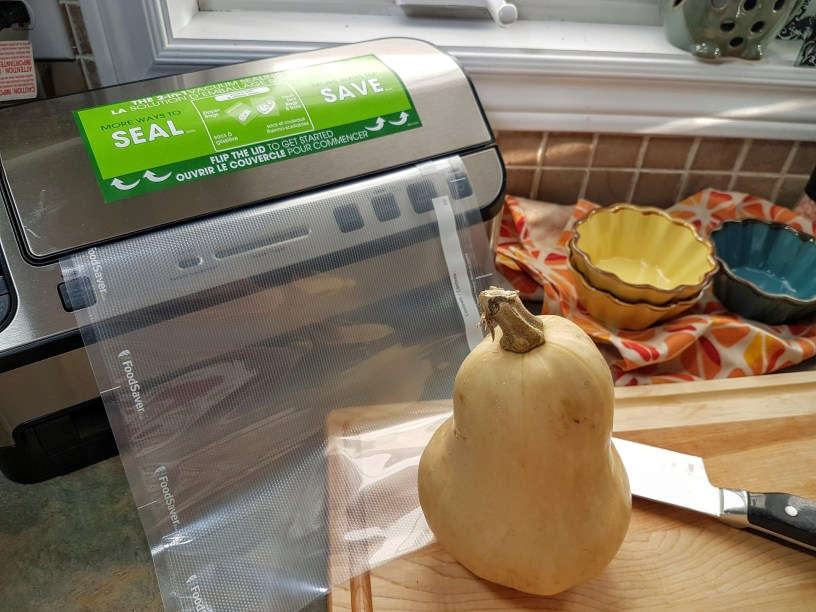 Wrapping up Thanksgiving with Food Saver