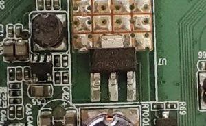 led tv voltage regulator