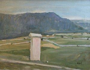 Mario Pozzati (1888 – 1947)   La madonnina del Loan   Olio su tela, cm. 40 x 52
