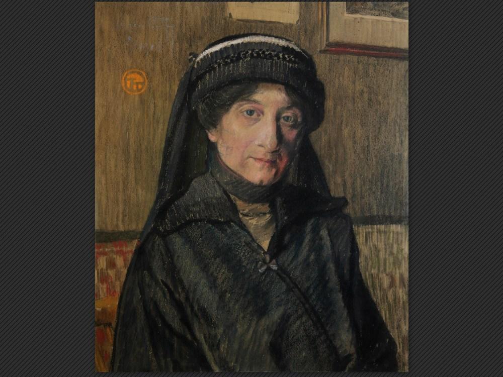 Lucien Ott, Ritratto di donna