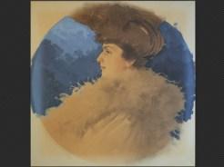 Roberto Franzoni   Profilo di donna elegante