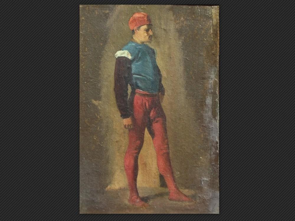 Dipinti antichi | Galleria de' Fusari | Alessandro Guardassoni, Studio di figura in piedi