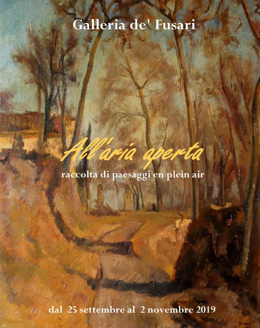 ALL'ARIA APERTA...  raccolta di paesaggi en plain air