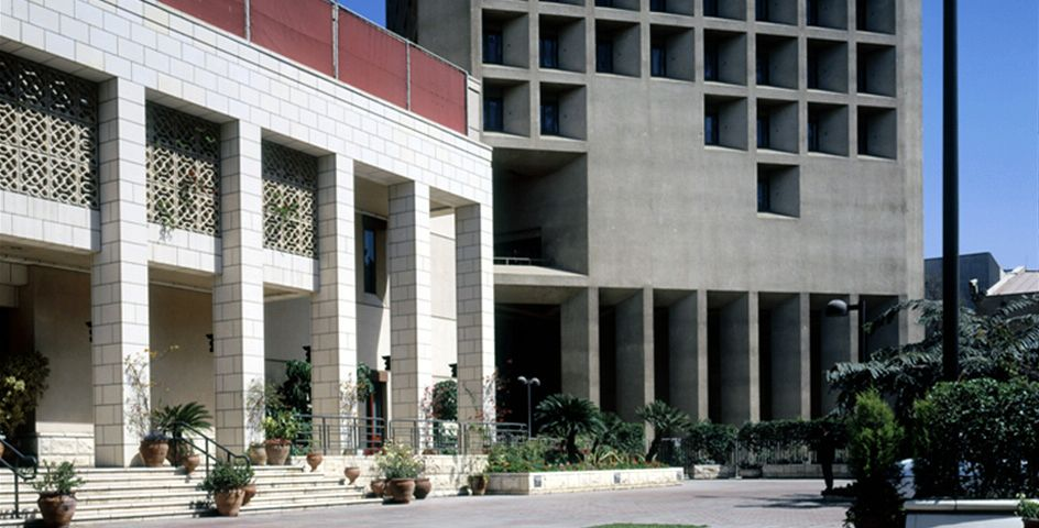 Image of Chancery in Cairo, Egypt, built in 1987.