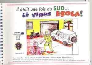 Ebola prevention and response graphic novel, 2014