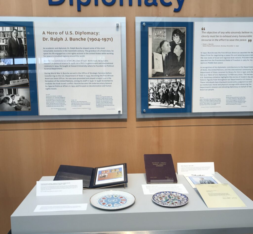 Bunche Spotlight on Diplomacy