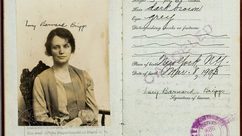 Photo of Lucys Briggs Passport