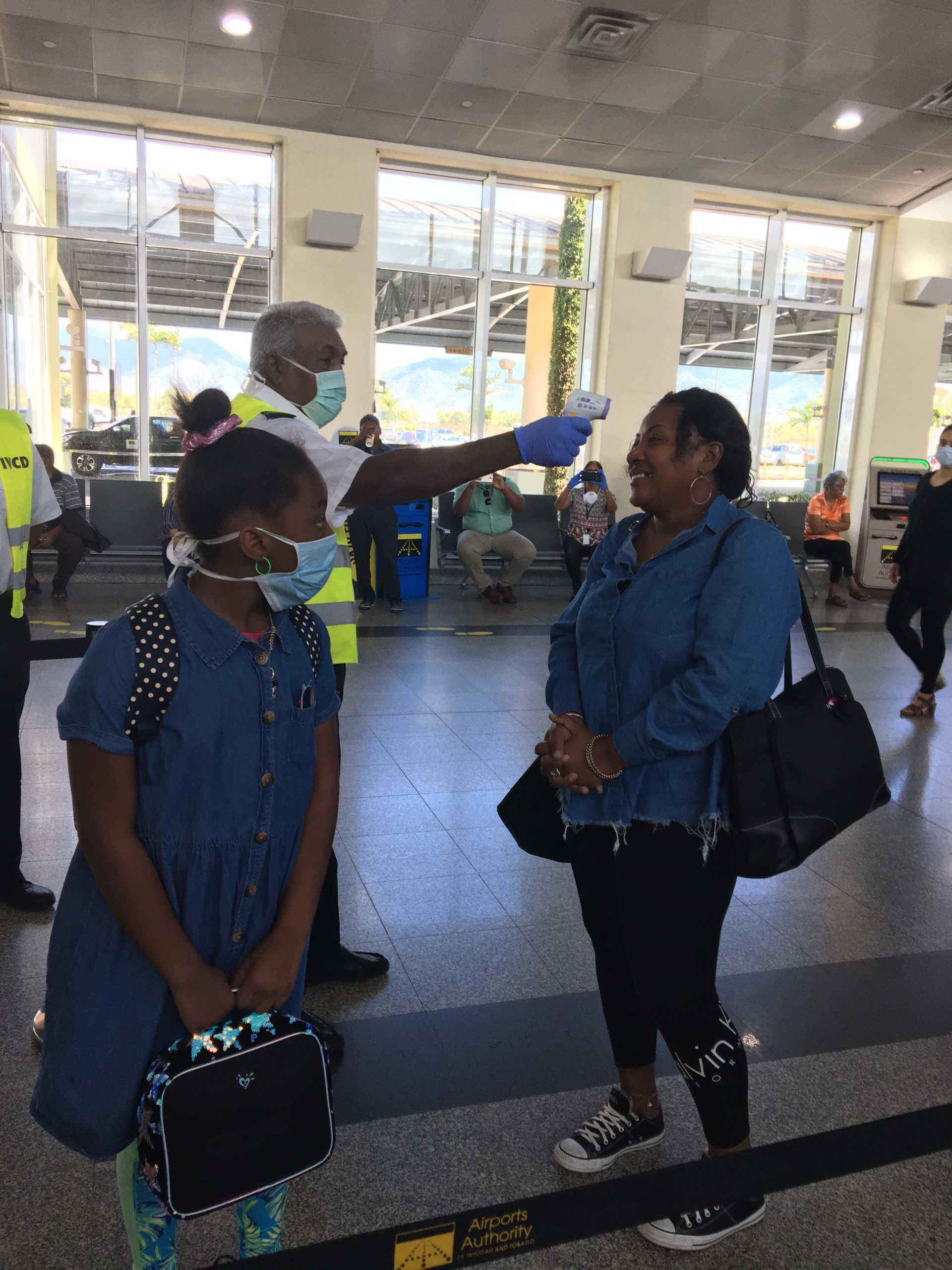 In early April, the U.S. Embassy in Trinidad and Tobago helped repatriate American citizens on a charter flight to the United States with support from the Piarco International Airport staff.