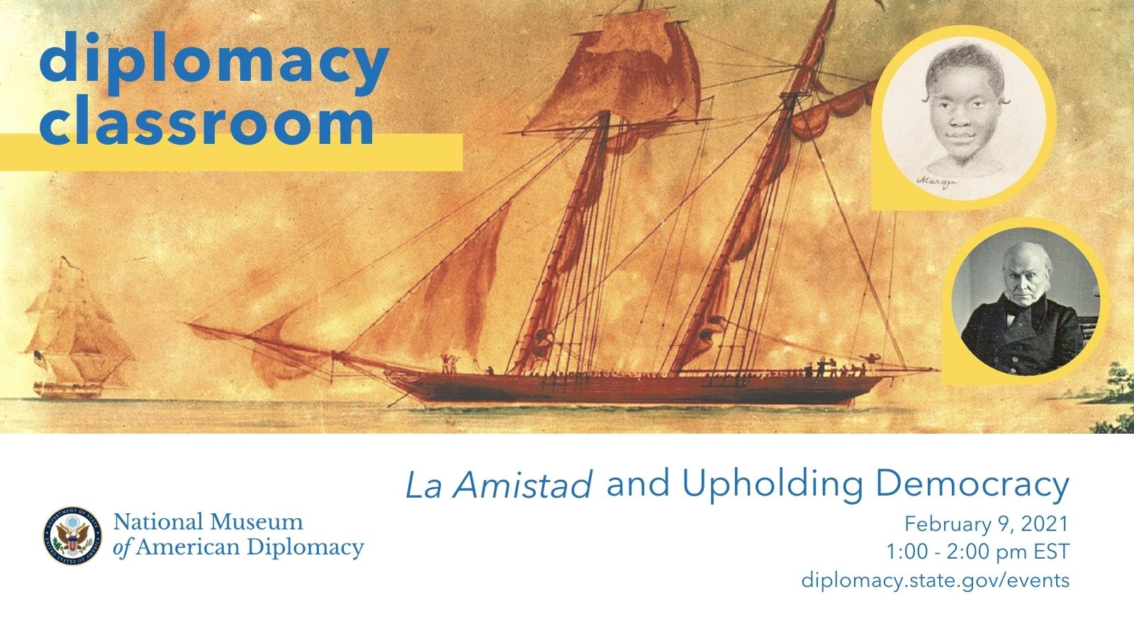Amistad Diplomacy Classroom Graphic