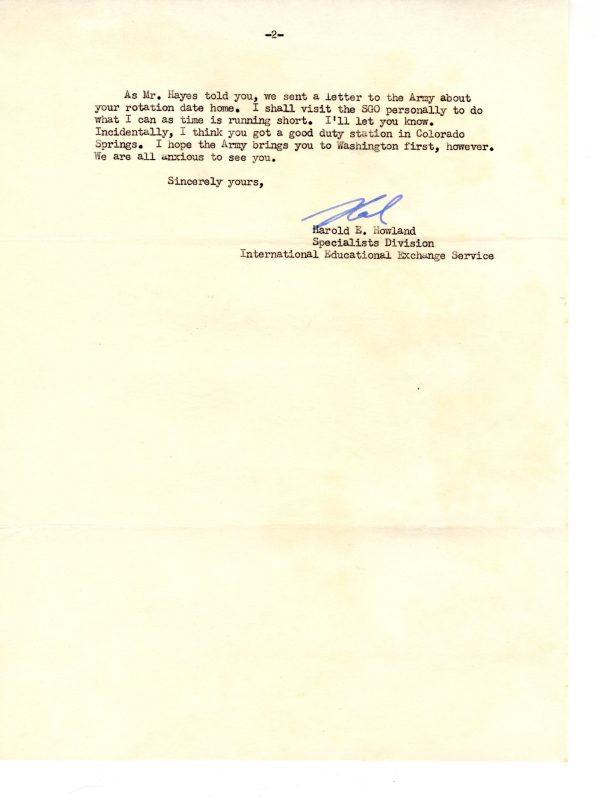 Howland Letter Dec 1954 02 scaled