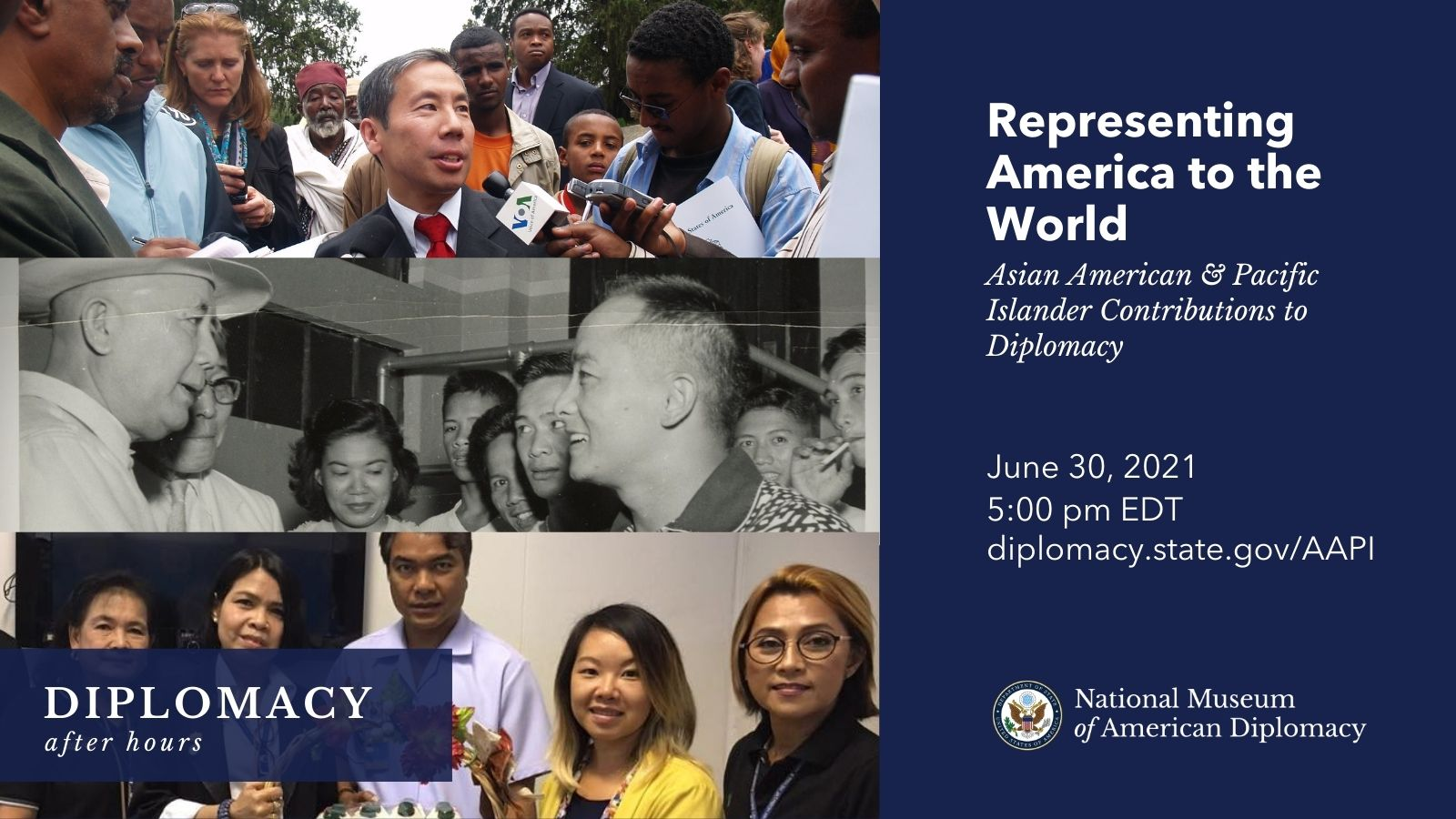 Diplomacy After Hours Asian American & Pacific Islander contributions to diplomacy