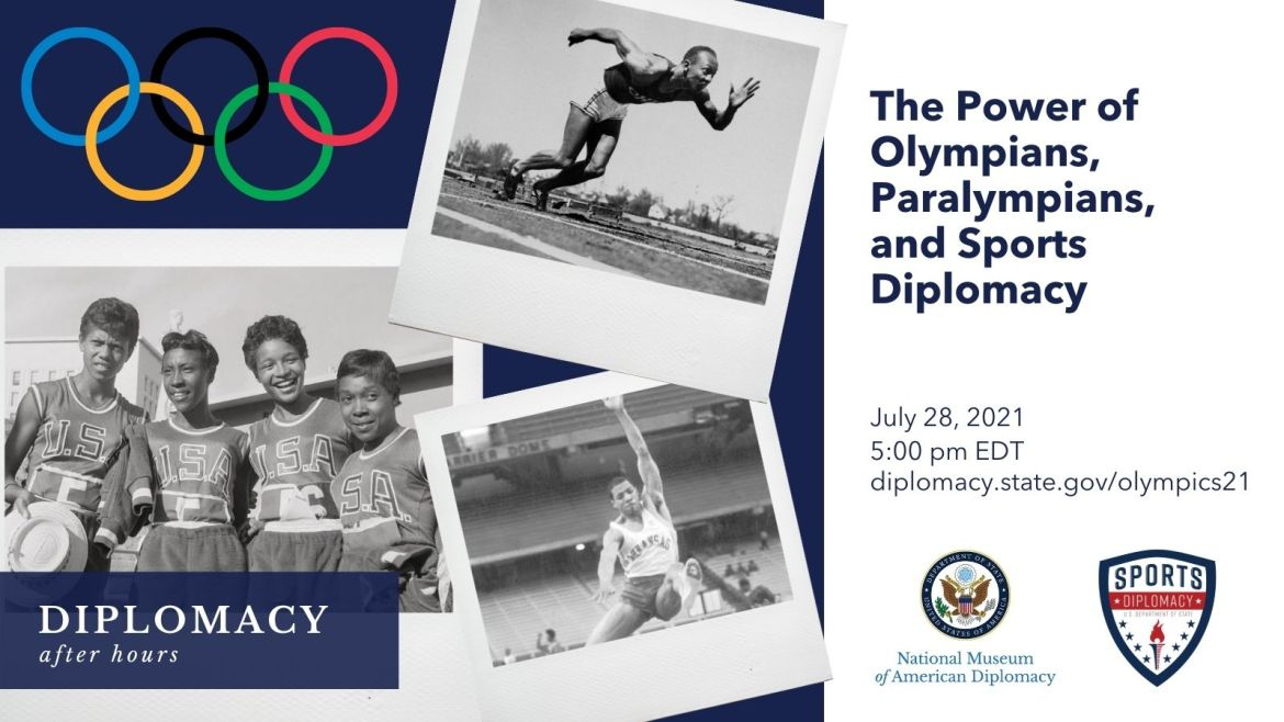 Olympics Olympians Paralympians Sports Diplomacy After Hours