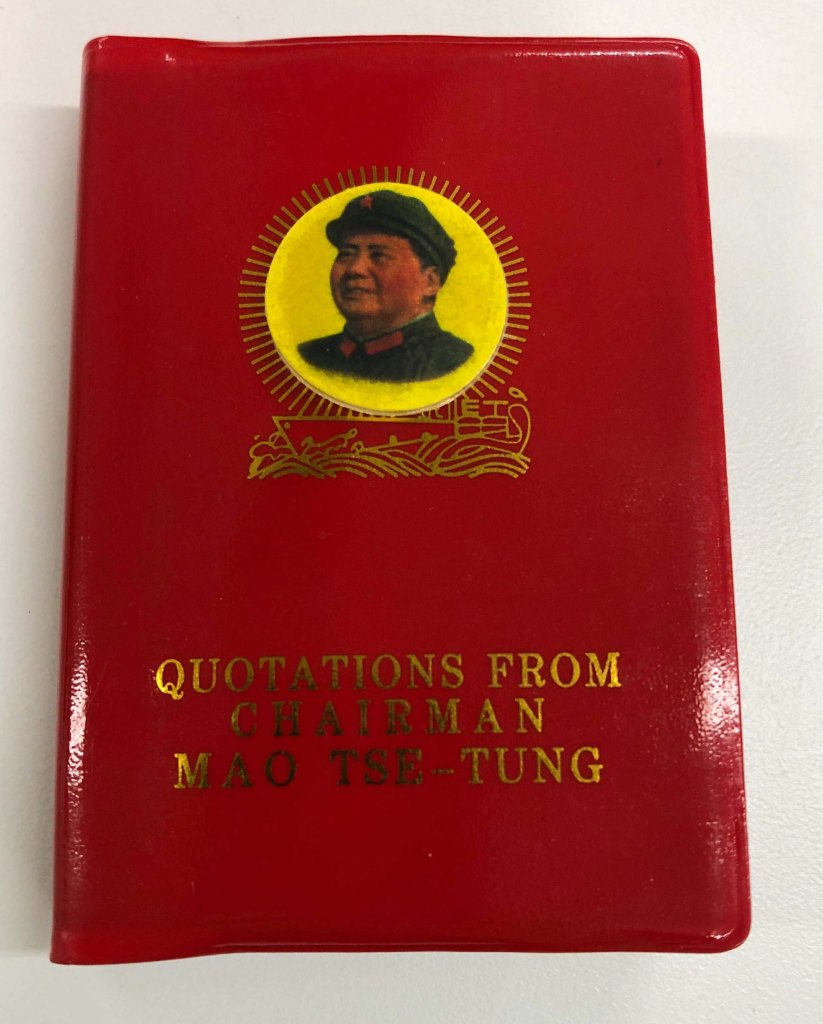 Mao Little Red Book Gift to U.S. Team
