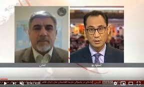 تصویر از مصاحبه با بی بی سی مورخ ۹ دسامبر ۲۰۱۹ برنامه چشم انداز بامدادی