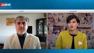 تصویر از مصاحبه با اینترنشنال مورخ ۱۸ اوت ۲۰۲۰ درباره احتمال عادی سازی روابط عمان و اسرائیل و واکنش جمهوری اسلامی