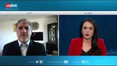 تصویر از مصاحبه با ایران اینترنشنال مورخ ۷ اوت ۲۰۲۰ درباره استعفای برایان هوک مسئول میز اقدام ایران