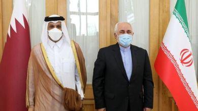 تصویر از دیدار وزیر خارجه قطر با ابراهیم رئیسی