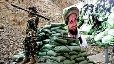 تصویر از حمایت از جبهه پنجشیر. پرچم سفید طالب=پرچم سیاه داعش (کلاب هاوس)