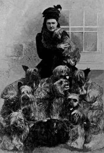 Ishbel Maria Hamilton-Gordon-and-her-skye-terriers