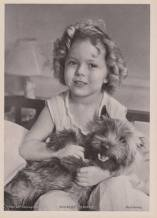 Shirley Temple in 'Bright Eyes' with Terry the cairn terrier as Rags