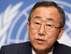 Ban ki-Moon – UN Boss