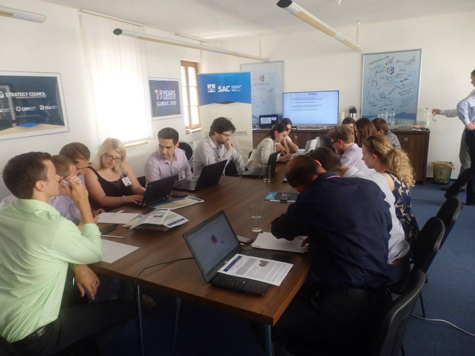 Visegrad School of Political Studies's Bratislava session