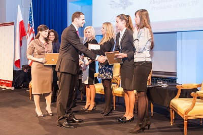 Casimir Pulaski Foundations scholarships for the 11th edition of the Academy of Young Diplomats