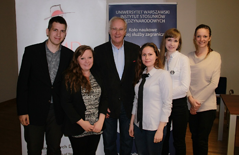"""Profession: Diplomat"" lecture at University of Warsaw"