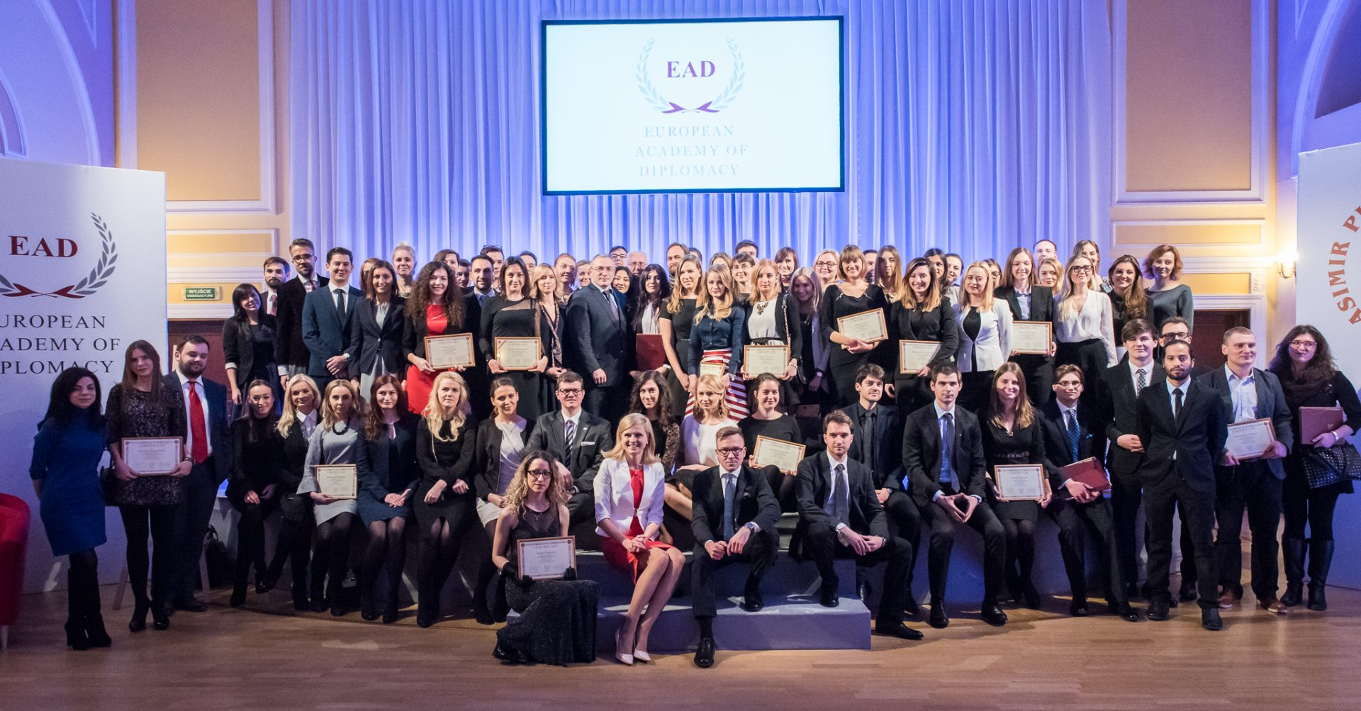 Inauguration Ceremony of the 15th edition of the Academy of Young Diplomats on the 2nd of December 2018!