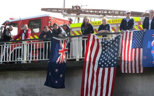 9/11 Memorial Service, Christchurch, New Zealand, September 11, 2010