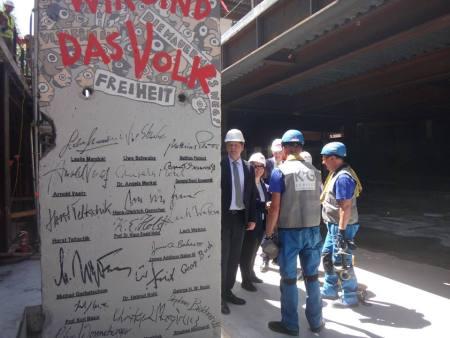 berlin wall for dip ctr