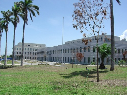 Exterior of the legitimate U.S. Embassy in Accra, Ghana (U.S. Department of State photo)