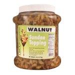 Wet Walnut Topping